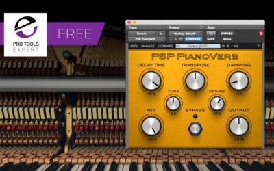 Infinite Recording: Friday Freebie - PSP-Pianoverb
