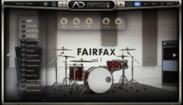 XLN Audio - Addictive Drummer - Fairfax Kit
