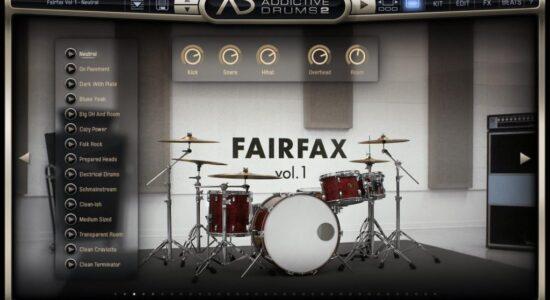 XLN Audio - Addictive Drummer - Fairfax Kit