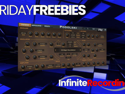 Infinite Recording Friday Freebie Plugin- u-he Podolski Virtual Synth