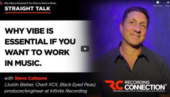 Recording Connection at Infinite Recording Studios with Steve Catizone